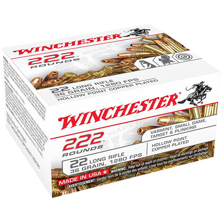 Winchester 22LR 36gr 1280 222ct