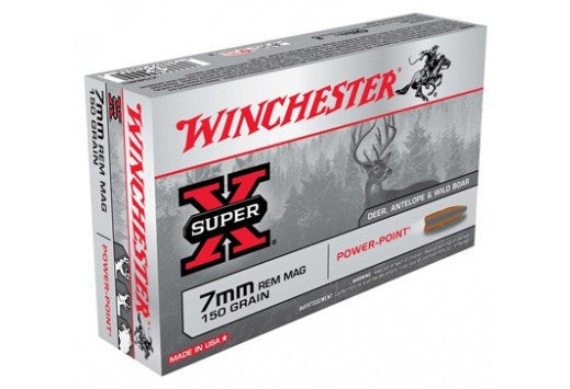 Winchester 7mm Rem Mag 150gr Power point