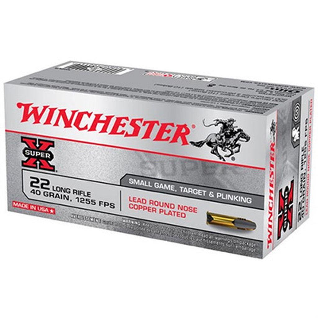 Winchester 22 Long Rifle x22lr 40 gr 50ct
