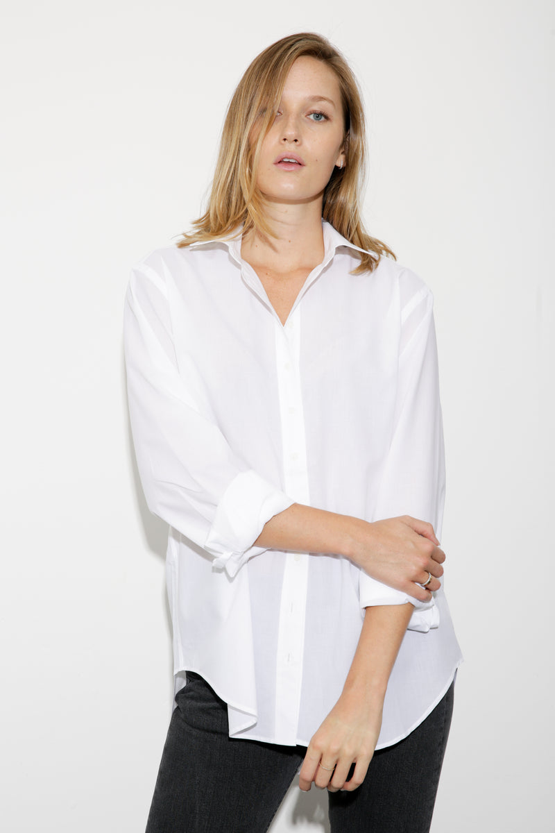 Alex Boyfriend Cotton Shirt