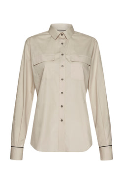 Issy Cotton Utility Shirt