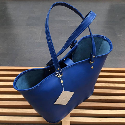 Picture of Venus Tote in Royal Blue by Sage Luxury