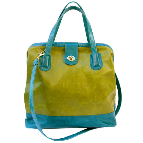 Picture of Marco in Avocado & Ocean Leather