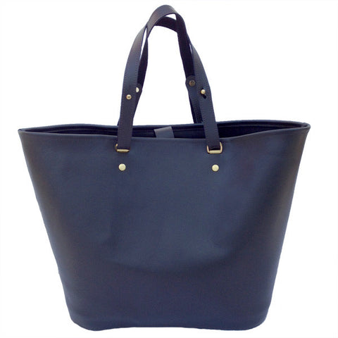 Picture of Venus Tote in Ebony Leather by Sage Luxury