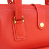 Milo in Tangerine Leather by Sage Luxury