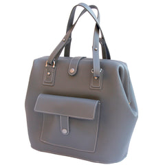 Milo in Slate Leather by Sage Luxury