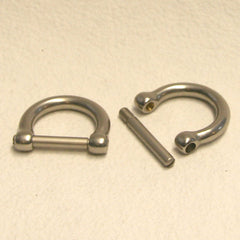 Removable D-Rings  - 100 Units