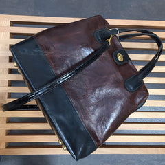 Marco in Espresso & Licorice Leather