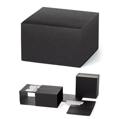 Alice & White Gift Card Box - black or nature box w/ribbon 350-1500 SEK