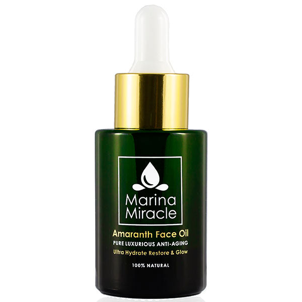 Marina Miracle Amaranth Face Oil, 28ml - ultra hydrate, restore & glow - luxurious anti-aging face oil - alice&white sthlm