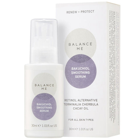 Balance Me Bakuchiol Smoothing Serum, 30ml - RENEW + PROTECT - retinol alternative