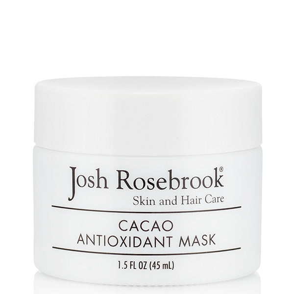Josh Rosebrook Cacao Antioxidant Mask, 45ml - firms, stimulates collagen & calms redness
