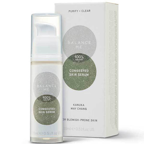Balance Me Congested Skin Serum, 15ml - on the spot gel to reduce & calm blemishes