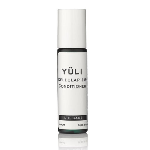 YÜLI Cellular Lip Conditioner, 10ml - 100% food grade multivitamin antioxidant serum to deeply moisturise, protect from UV & treat chapped dehydrated lips - ideal when lip balms won't work!