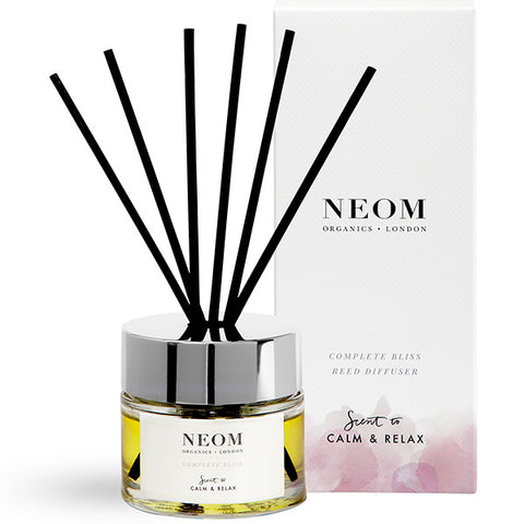 Neom Organics COMPLETE BLISS Reed Diffuser, 100ml - Scent To Calm & Relax - alice&white sthlm