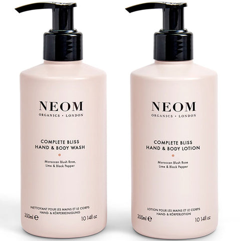 Neom Organics Complete Bliss Hand & Body Wash & Lotion - Alice&white Sthlm