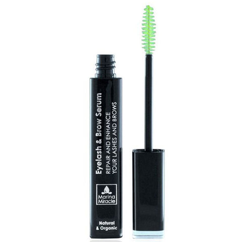 Marina Miracle Eyelash & Brow Serum, 10ml -  repair & enhance naturally