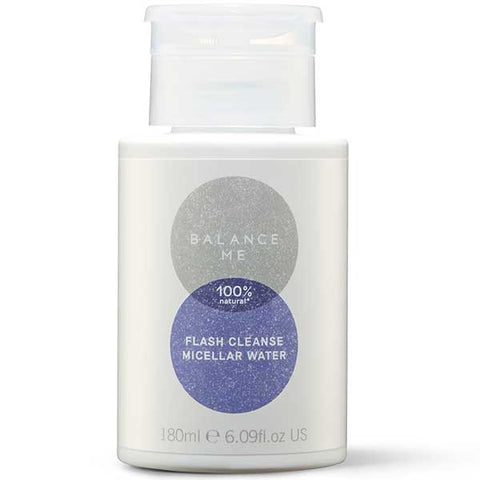 Balance Me Collagen Boost Flash Cleanse Micellar Water, 180ml - *new packaging* removes all make-up without rinsing