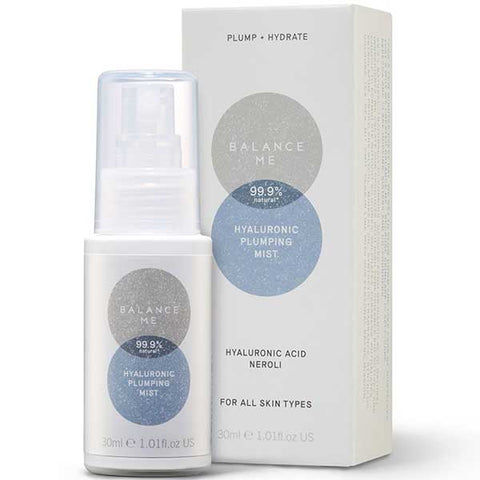 Balance Me Hyaluronic Plumping Mist, 30ml - PLUMP + HYDRATE