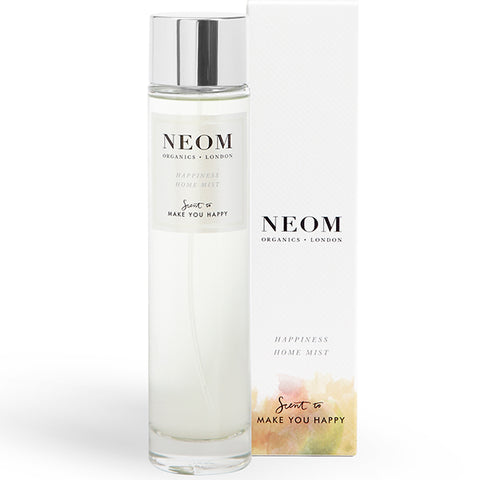 Neom Organics HAPPINESS Home Mist, 100ml - Scent To Make You Happy - alice&white sthlm