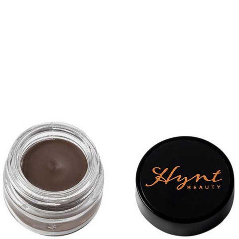 Hynt Beauty Eyebrow Definer (Cream to Powder) 3gr - Black - organic & vegan, long lasting, water resistant, helps new hair to grow
