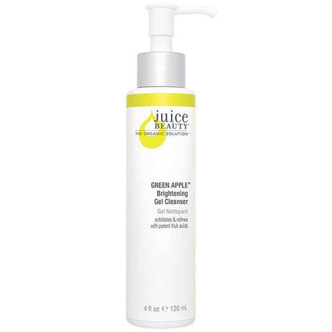 Juice Beauty GREEN APPLE Brightening Gel Cleanser, 133ml - treats hyperpigmentation & sun-damaged skin