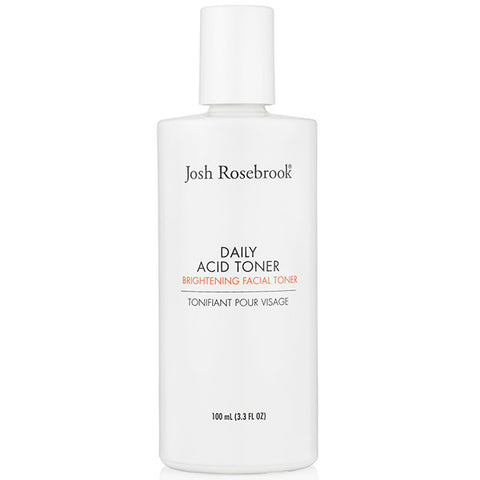 Josh Rosebrook DAILY ACID TONER, 100ml - brightening, exfoliating & collagen stimulating