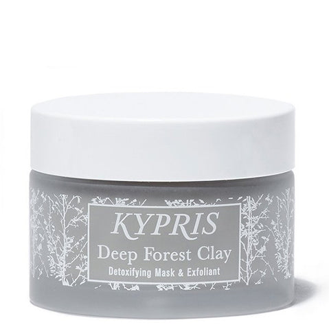 Kypris Deep Forest Clay, 46ml - detoxifying face mask & exfoliant w/sea algae & powerful medical botanicals