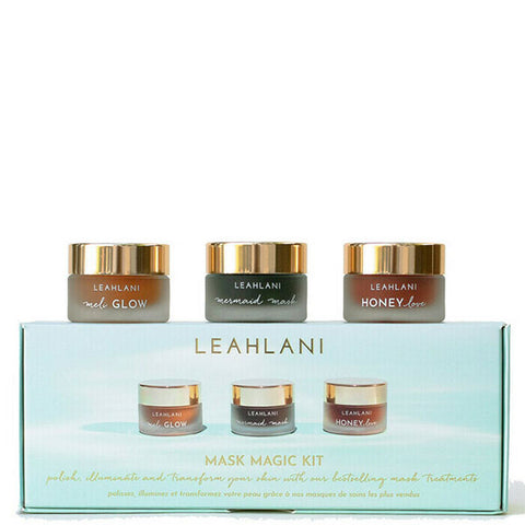 Leahlani Skincare MASK MAGIC KIT, 3 x 15ml - mini mask essentials for healthy glowing skin