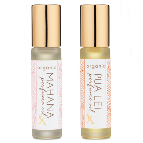 Leahlani Skincare Organic Perfume Oil, 9 ml - tropical summer scent