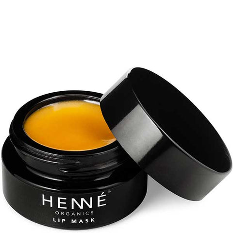 HENNÉ Organics Lip Mask, 15ml - rejuvenates, nourishes & plums