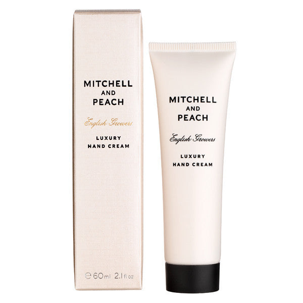 Mitchell and Peach Flora No.1 Luxury Hand Cream, 60ml - Lavender, rose, ylang-ylang & violet from the Mitchell estate