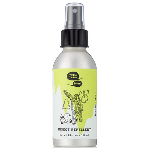 Meow Meow Tweet Insect Repellent, 112ml - 100% natural herbal spray, to keep the bugs & mosquitoes away