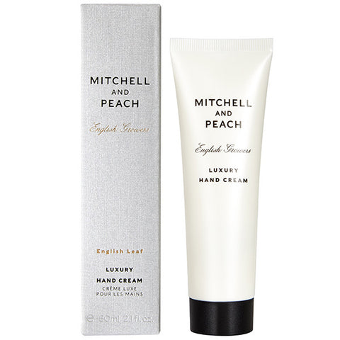 Mitchell and Peach English Leaf Luxury Hand Cream, 60ml
