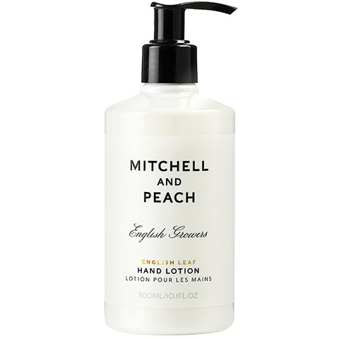 Mitchell and Peach English Leaf Hand Lotion, 300ml