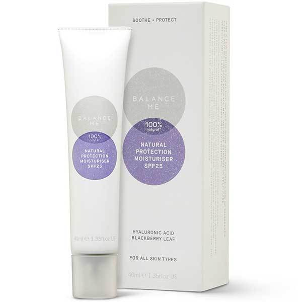 Balance Me Natural Protection Moisturiser SPF25, 40ml - protects against UVA & UVB rays - alice&white sthlm