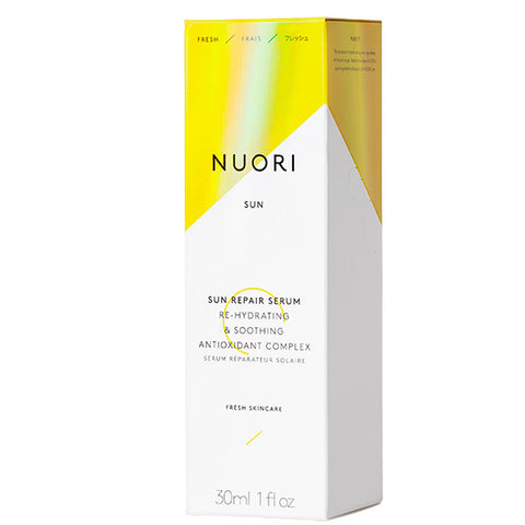 NUORI Sun Repair Serum, 30ml - re-hydrating & soothing antioxidant complex, calms redness