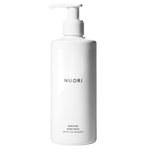NUORI Enriched Hand Wash, 300ml - White Tea Blossom - hand & body wash