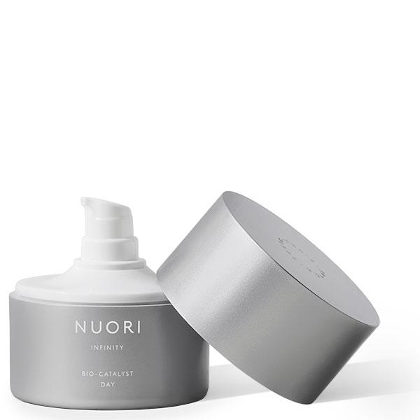 NUORI INFINITY Bio-Catalyst DAY, 50ml - proven to stimulate collagen, w/Hyaluronic acid + Marine Algae - alice&white sthlm