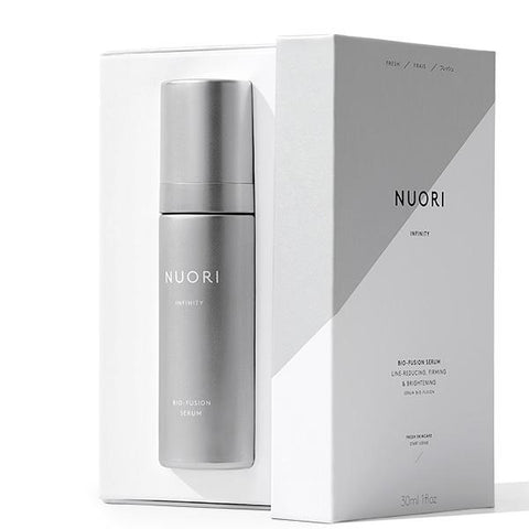 NUORI INFINITY Bio-Fusion Serum, 30ml - natural retinol-alternative + Ceramides + latest generation of natural hyaluronic acid