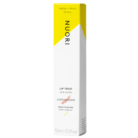 NUORI Lip Treat COPENHAGEN, 15ml - nude-tinted, protects & softens dry lips - alice&white sthlm