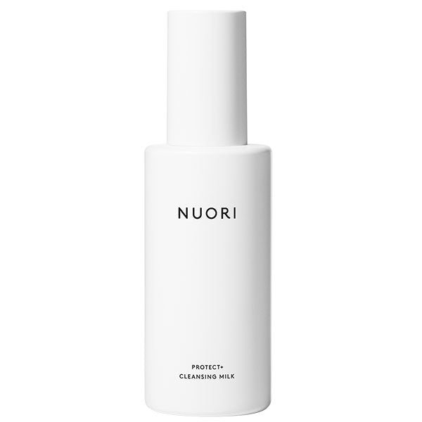 NUORI Protect+ Cleansing Milk, 150ml - nourishing & soothing bioactivated blend, prevents collagen breakdown & inflammation