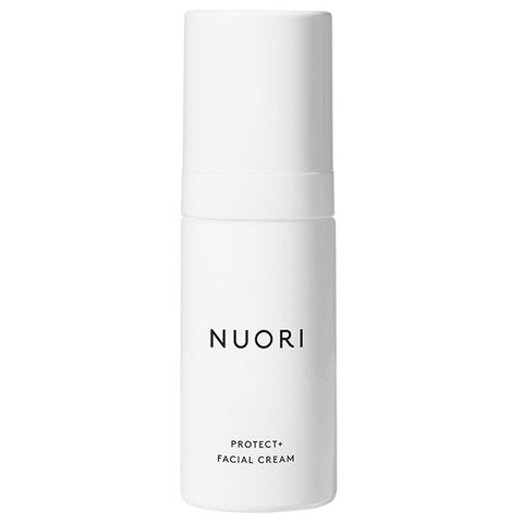 NUORI Protect + Facial Cream, 30ml - nourishing & barrier-enforcing bioactivated blend w/Vitamin B3/Niacinamide, prevents collagen breakdown & inflammation