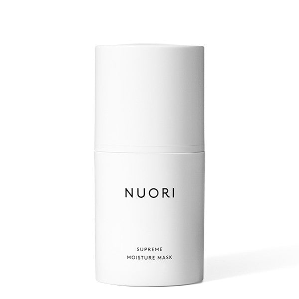 NUORI Supreme Moisture Mask, 50ml - instant or overnight hydration boost to revitilize dehydrated & distressed skin