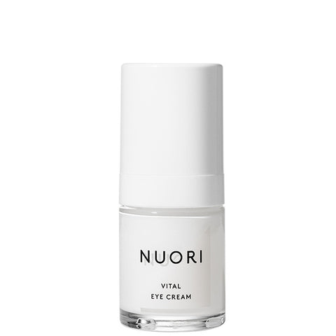 NUORI Vital Eye Cream, 15ml - antioxidant complex w/Hyaluronic acid, fragrance-free
