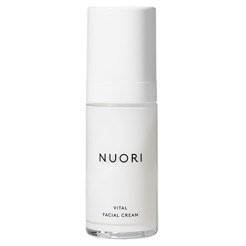 NUORI Vital Facial cream, 30ml - hydrating & smoothing antioxidant complex w/Hyaluronic Acid