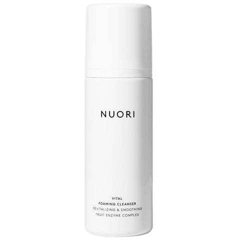 NUORI Vital Foaming Cleanser, 100ml - revitalizing & smoothing fruit enzyme complex