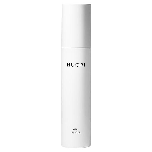 NUORI Vital Unifier, 100ml - toner, essence & mist in one - organic aloe vera, natural hyaluronic acid, apple fruit water, white tea, licorice root & chamomile flower
