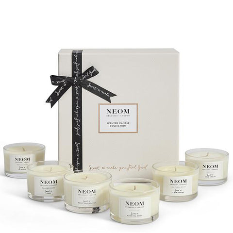 Neom Organics Scented Candle Collection - 100% natural Scent to Make You Feel Good range