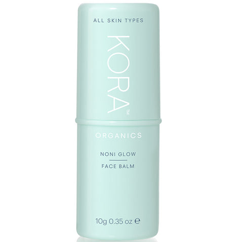 KORA Organics Noni Glow Face Balm, 10gr - balm-stick, for instant hydration or anytime your skin needs that extra glow
